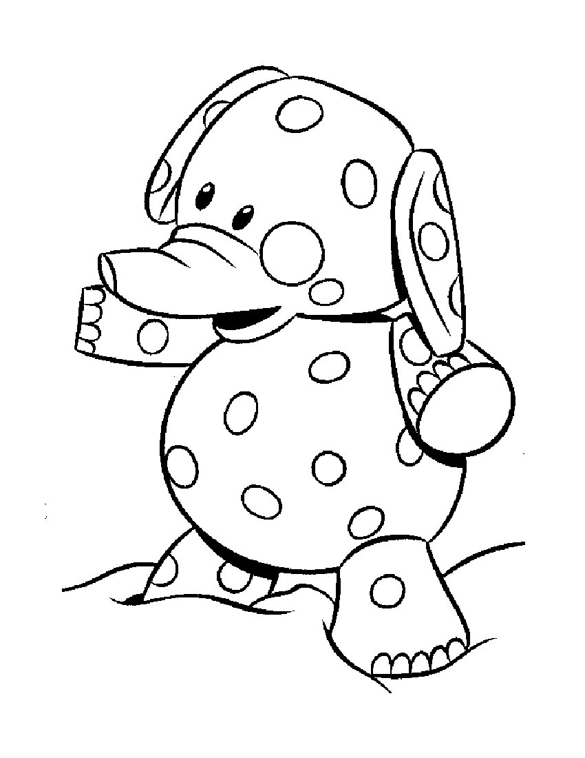 850x1100 Clown Coloring Pages Circus Elephant