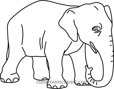 400x311 Elephant Clipart Outline Simple Elephant Outline Best 25 Elephant