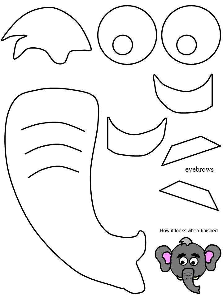 720x960 Elephant Nose Clipart