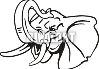200x140 Awesome Indian Elephant Photo Gallery Elephant Head Trunk Up