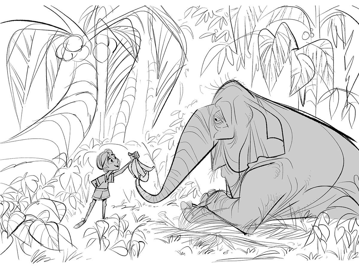 1200x900 Tutorial Feeding The Elephant By Varun Nair Photoshop, Tutorial