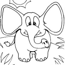 Elephant Ears Drawing at GetDrawings.com   Free for personal use ...