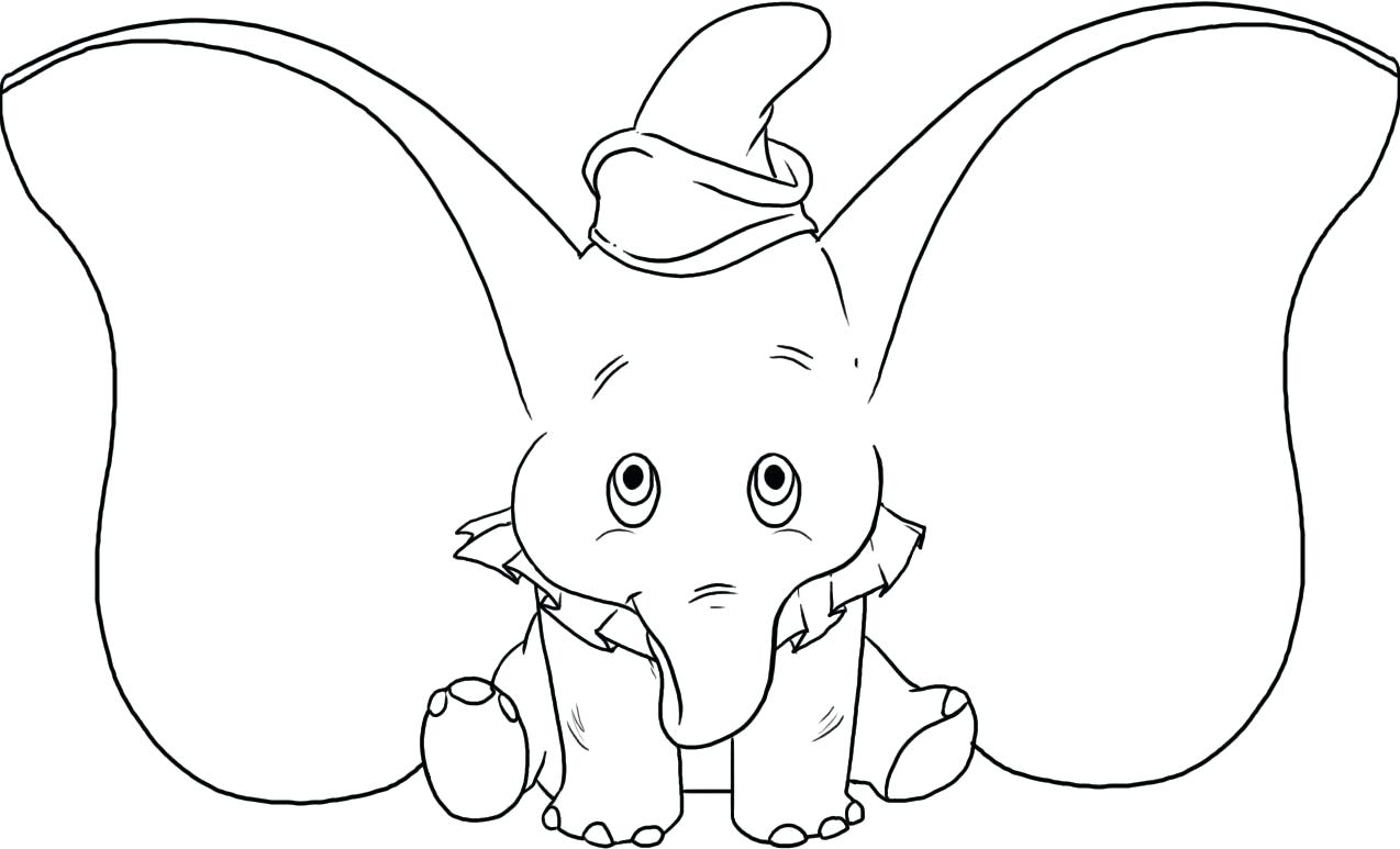 1274x773 Coloring Ear Coloring Page Elephant 4 Printable. Ear Coloring Page