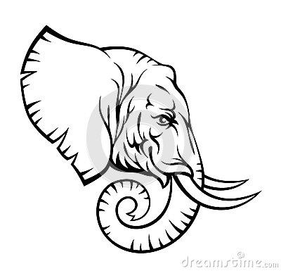 400x385 Elephant Head By Skalapendra, Via Dreamstime Elephants