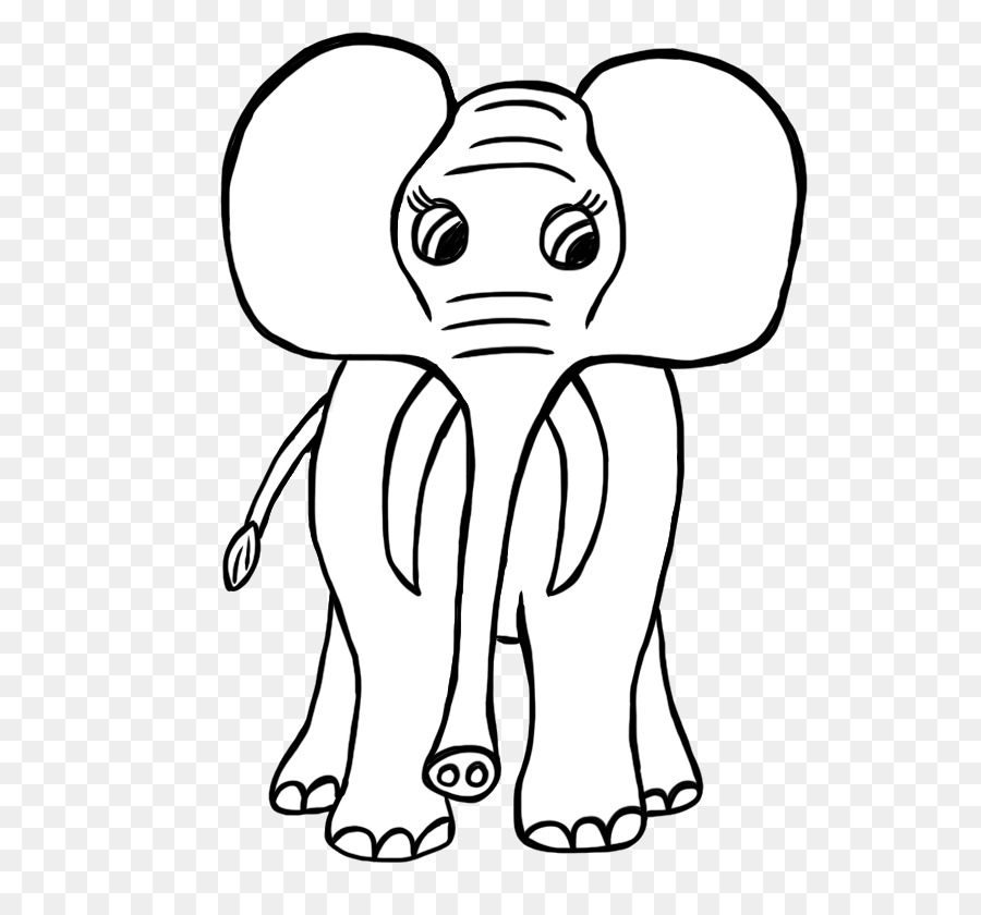 900x840 African Elephant Indian Elephant Lion Drawing Clip Art
