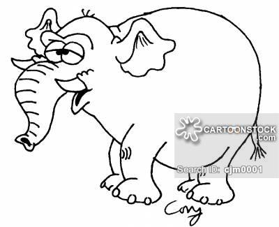 400x325 Indian Elephant Cartoons And Comics