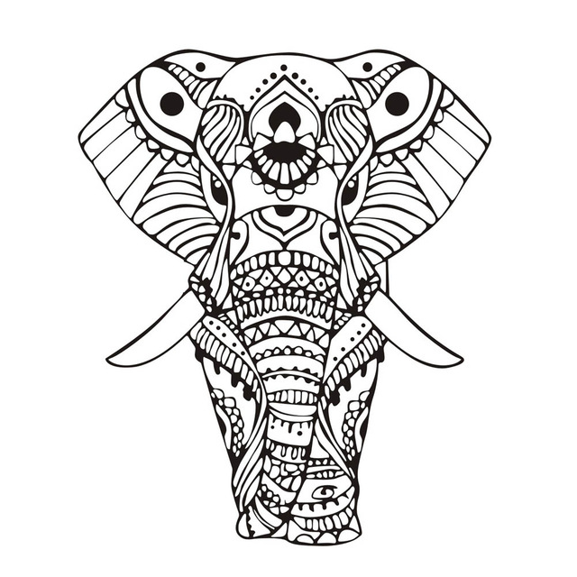 640x640 New Design Wall Stickers Mandala Yoga Ornament Indian Buddha God