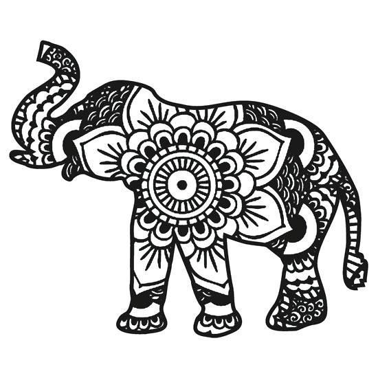 Elephant Indian Drawing At GetDrawings