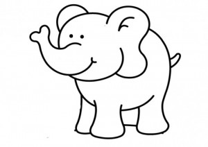 Elephant Kid Drawing at GetDrawings.com   Free for personal use ...
