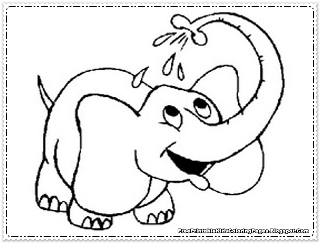 Elephant kid drawing at getdrawings free for personal use 1066x810 elephant printable template maxwellsz