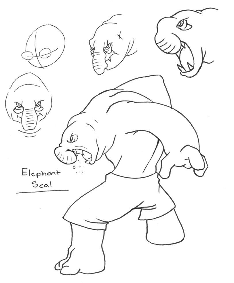 813x983 Elephant Seal Tn By Marhero