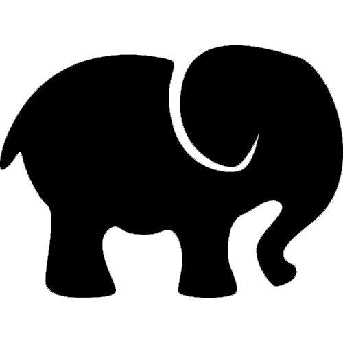 500x500 Elephant Photo Collage