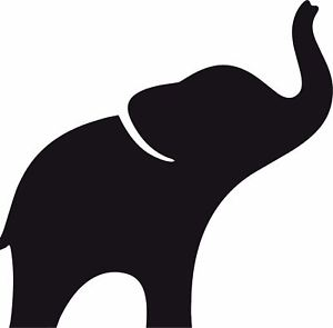 300x295 Window Wall Car Display Elephant Silhouette Decal Vinyl Sticker eBay