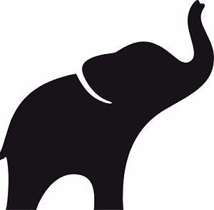 300x295 Window Wall Car Display Elephant Silhouette Decal Vinyl Sticker Ebay