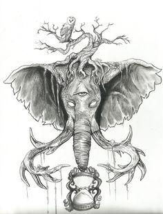 236x310 Fox Skull Tattoo By Aliciajenkins On Tattoo Drawings