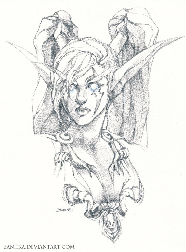 Elf Ears Drawing at GetDrawings.com | Free for personal use Elf Ears ...
