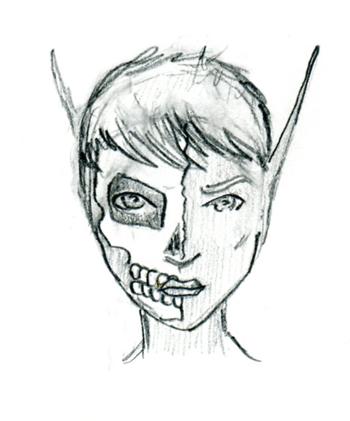 350x421 Aerenal Elf Face By Yasuk1