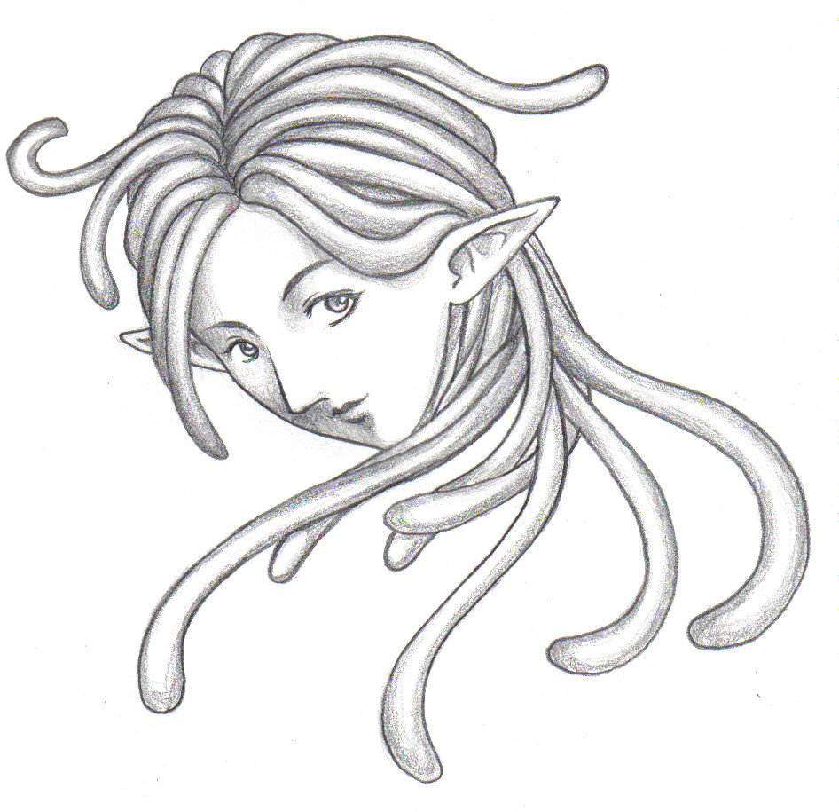 946x915 Dreadlock Elf Girl By Suzuko42
