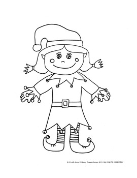270x350 Christmas Free How To Draw A Girl Elf By Art With Jenny K Tpt