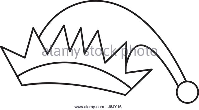 640x353 Elf Hat Black And White Stock Photos Amp Images