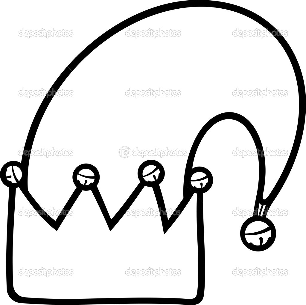 1023x1020 Elf Hat Coloring Page