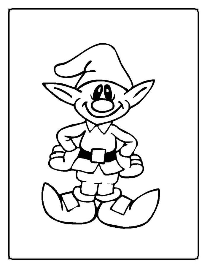 698x903 Greatest Elf Pictures To Print Elves Clipart