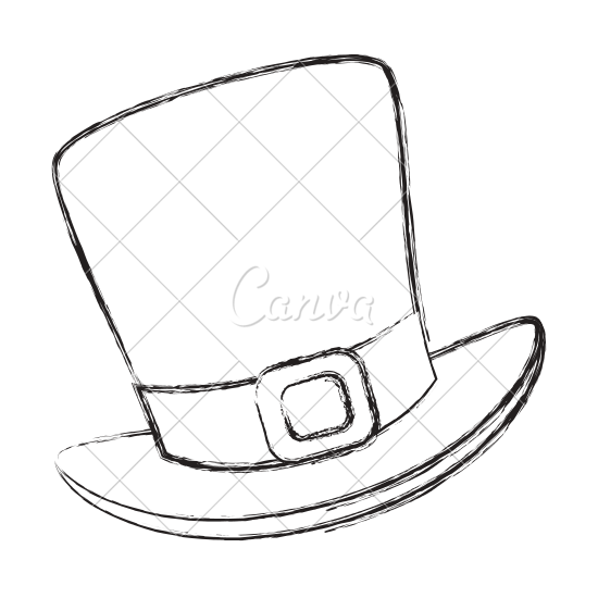 550x550 Irish Elf Hat Sketch