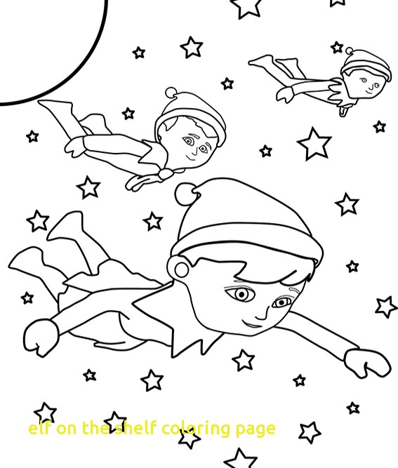 567x667 Elf On The Shelf Coloring Page With Elf On The Shelf Coloring