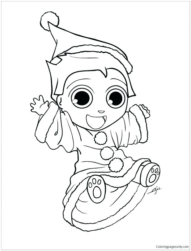 618x815 Kids N 9 Coloring Pages Of Elves Elf To Print Murs