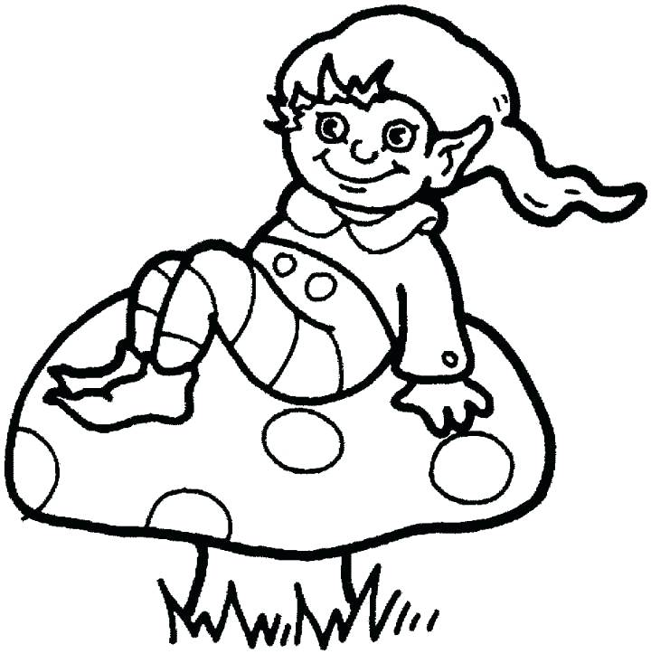 720x723 Elf Printable Coloring Pages Adult Elf Print Coloring Pages Elf