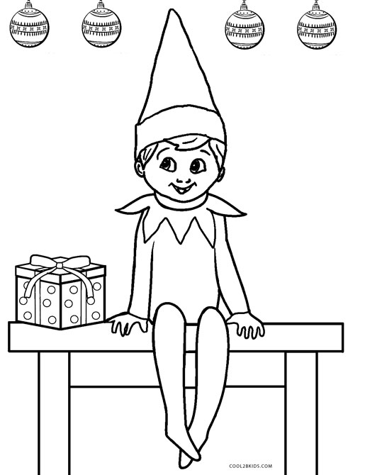 515x670 Free Printable Elf Coloring Pages For Kids Cool2bkids