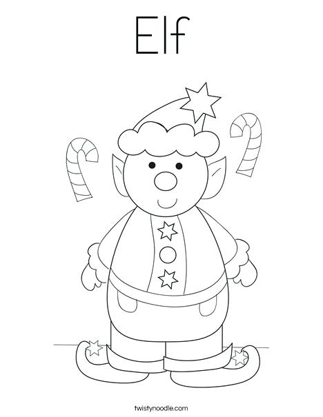 468x605 Here Are Elf Coloring Pages Pictures Elf Coloring Page Elf On
