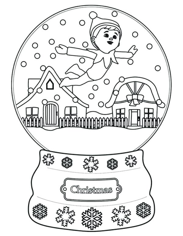 600x775 Images About Coloring Pages Elves On Elf Princess Page The Shelf