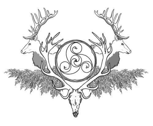 500x413 drawing elk Tumblr