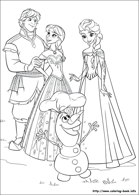 567x794 Elsa And Jack Frost Coloring Pages 1 For You By Elsa And Jack