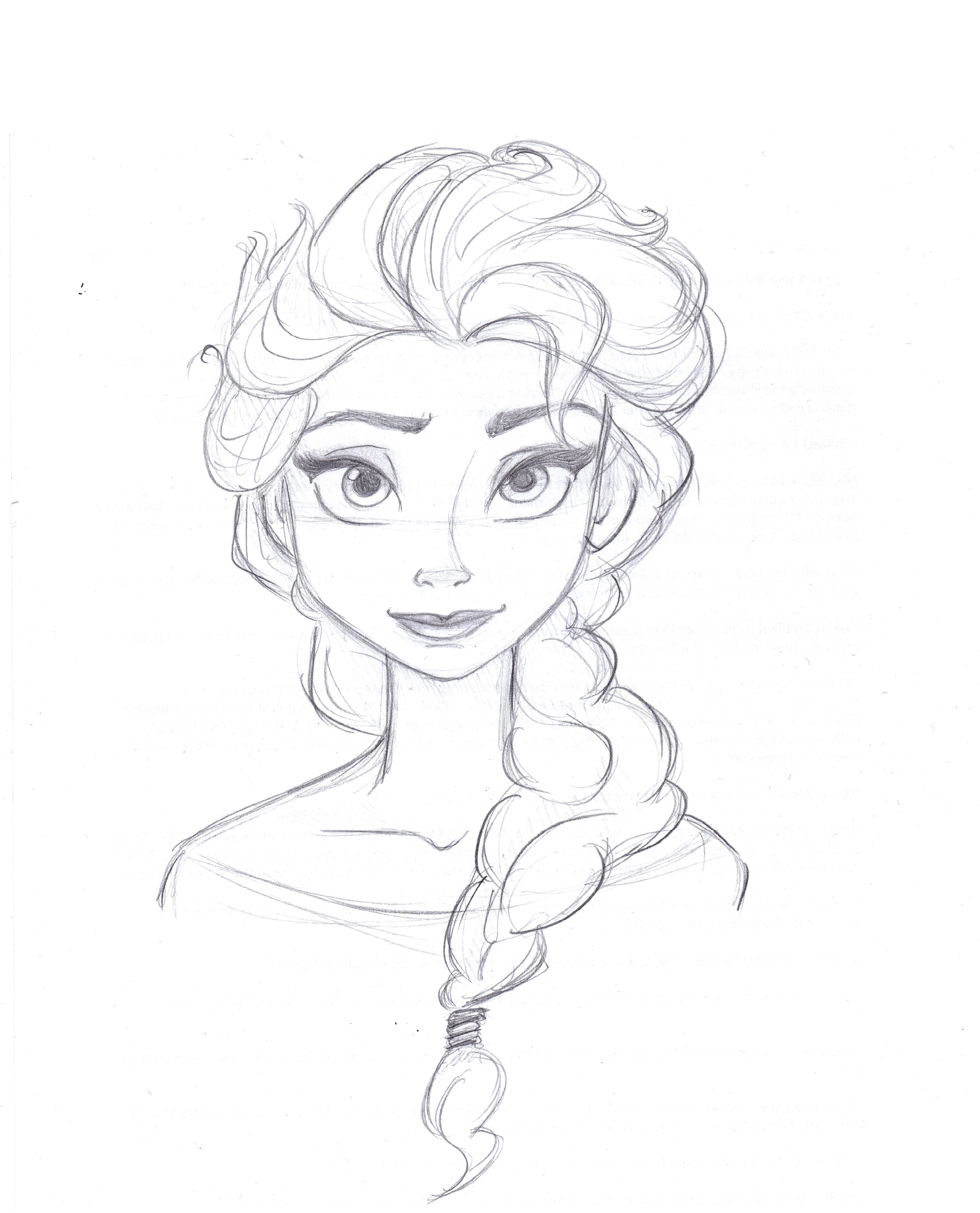 4960x6139 Elsa From Frozen Art By Anna Helena Elsa, Drawings