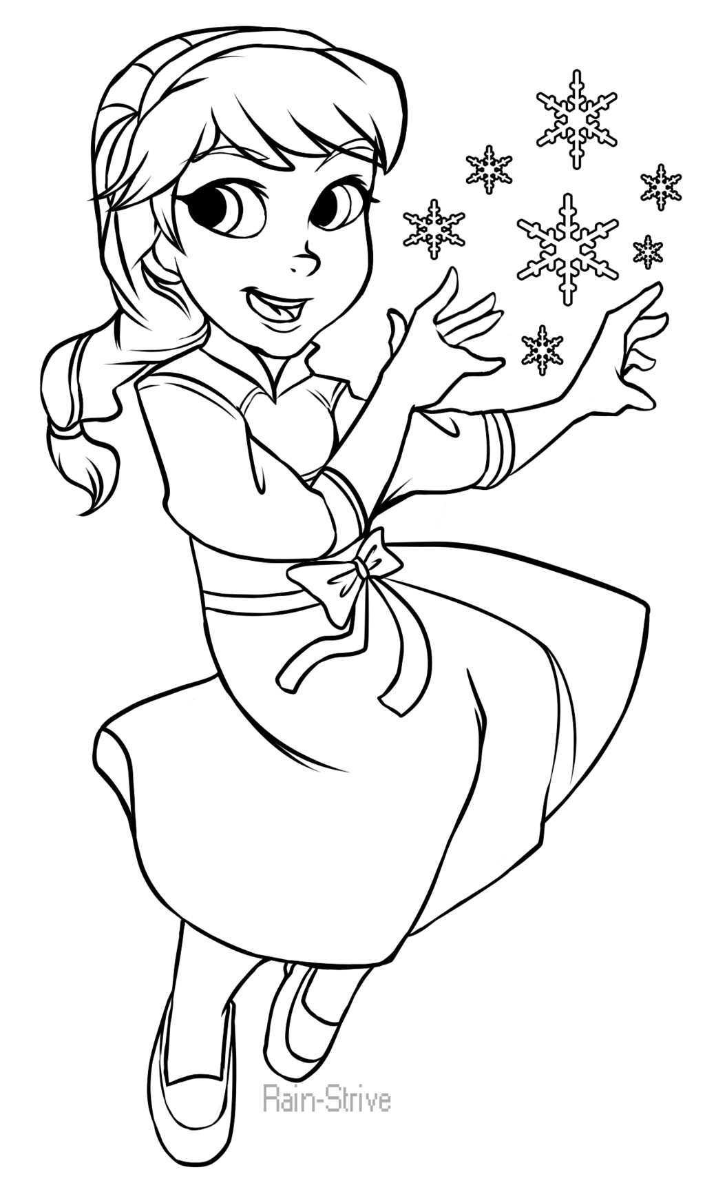 Elsa Frozen Drawing Full Body Step 1024x1730 FrozenElsa By Rain Strive On DeviantArt