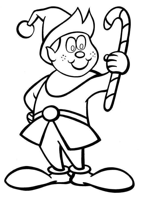 Elves Drawing at GetDrawings.com   Free for personal use Elves ...