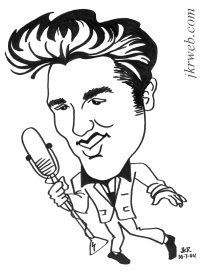Elvis Cartoon Drawing