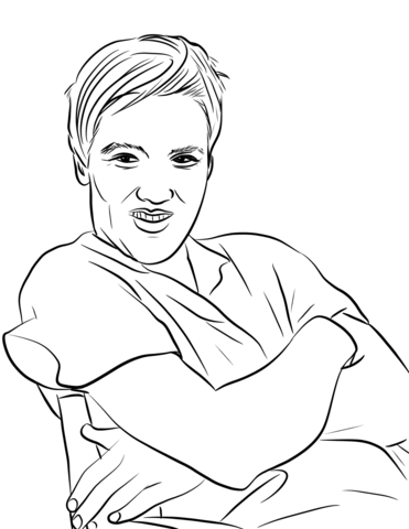371x480 Elvis Coloring Page Free Printable Coloring Pages