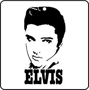 Elvis Line Drawing