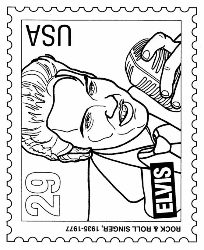 670x820 Elvis Presley Clipart Elvis Presley Coloring Pages