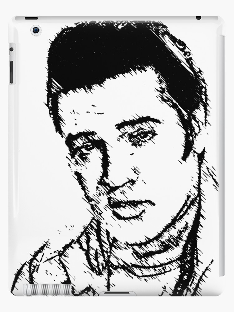 750x1000 Elvis Presley Ipad Cases Amp Skins By Cybersmudger Redbubble