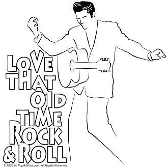 Elvis Line Drawing At Getdrawings Com Free For Personal Use Elvis