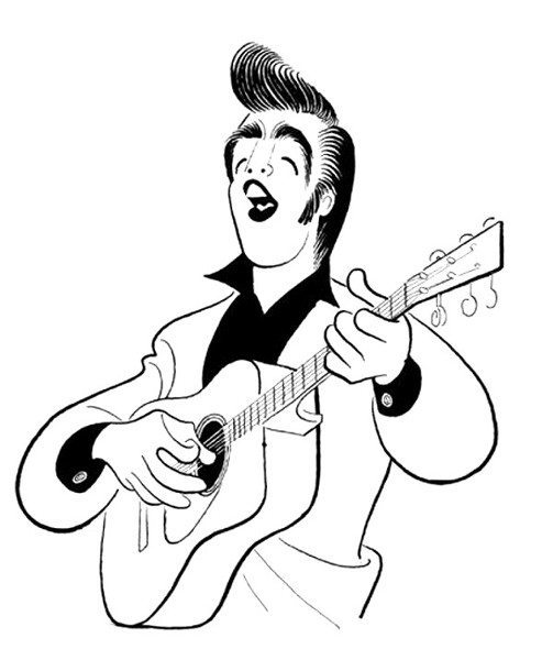503x600 The First Published Caricature Of Elvis Presley