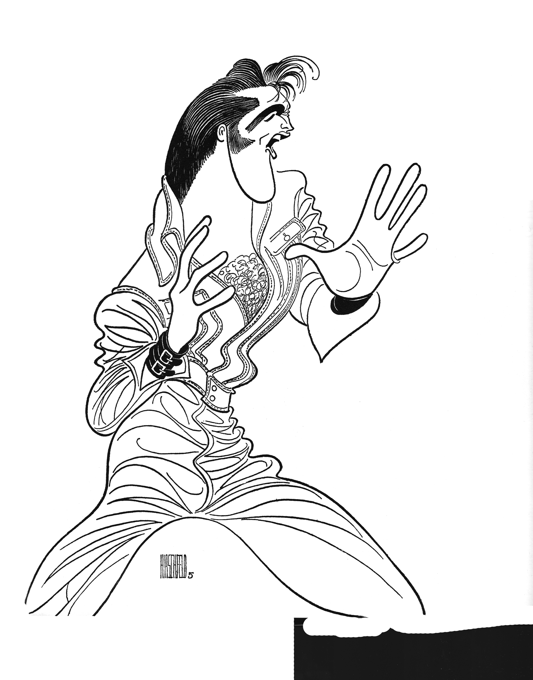 Elvis Presley Drawing at GetDrawings.com | Free for personal use ...