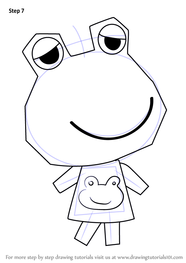 598x844 Learn How To Draw Emerald From Animal Crossing (Animal Crossing