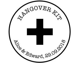 340x270 Hangover Kit Stamp Etsy
