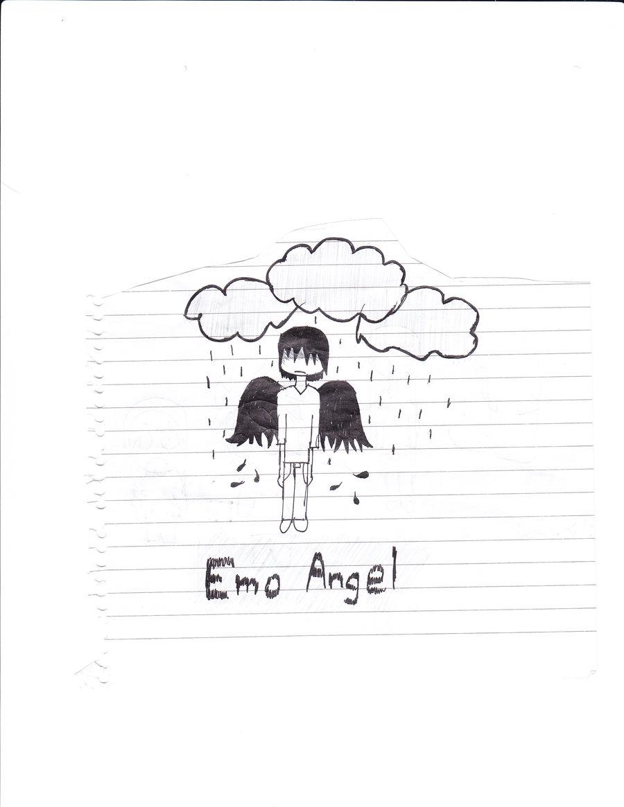 900x1165 Emo Angel By Sadquiet