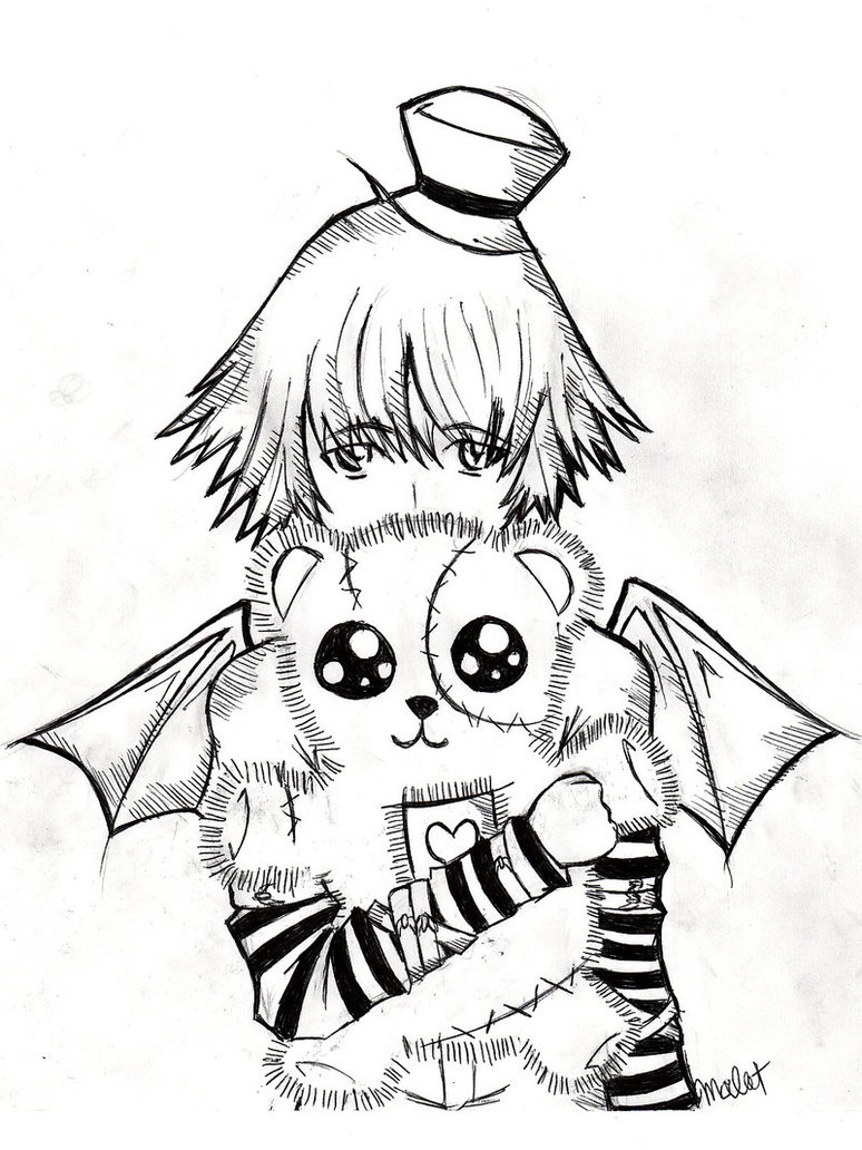 774x1032 Emo Coloring Pages 14 Images Of Emo Angel Boy Coloring Pages Anime
